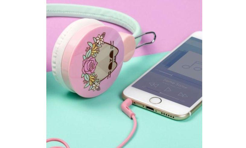 Pusheen headphones ear pieces
