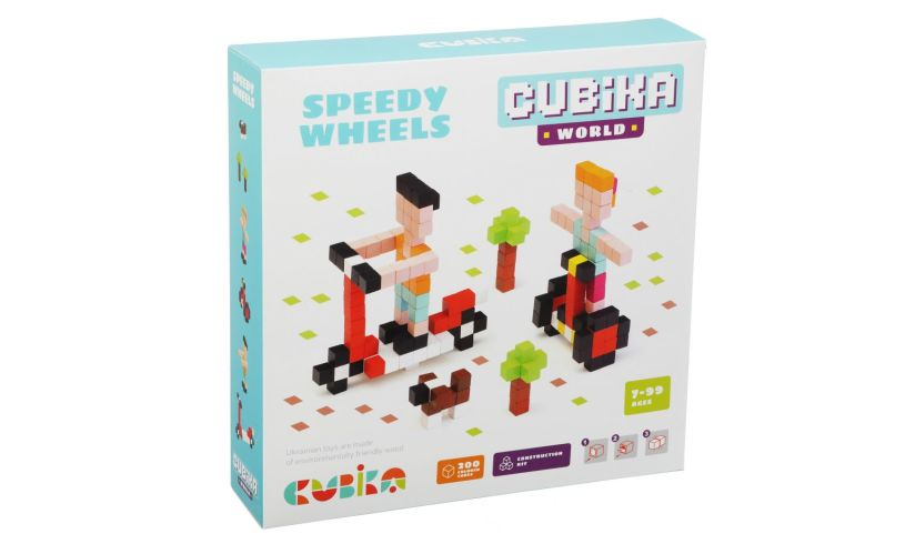 Speedy Wheels box