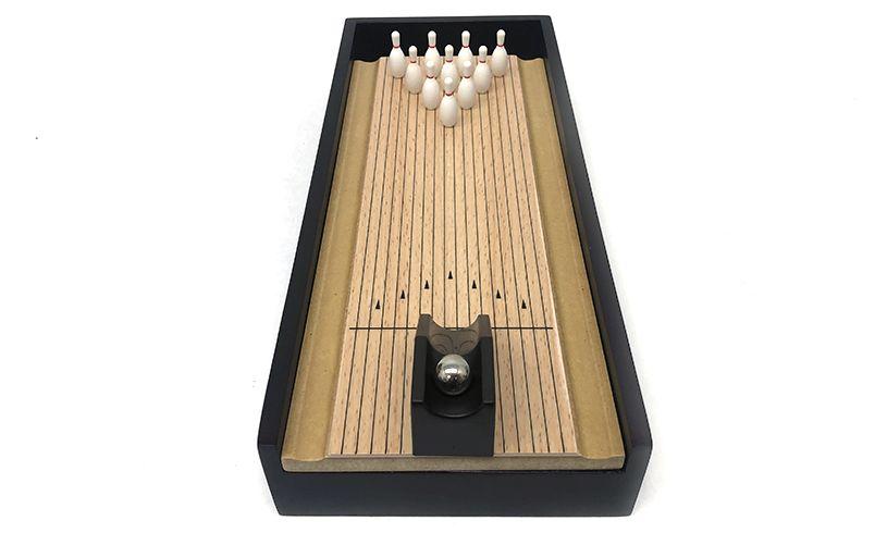 Desktop Bowling Set front