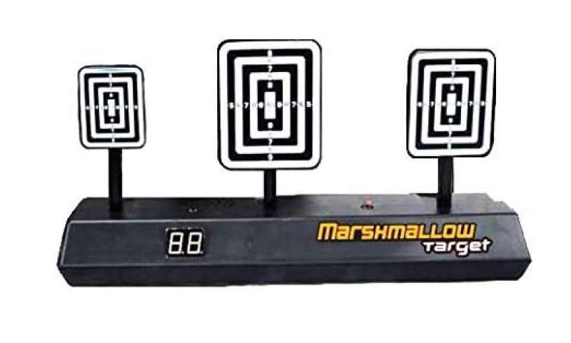 Extreme Marshmallow Blaster target