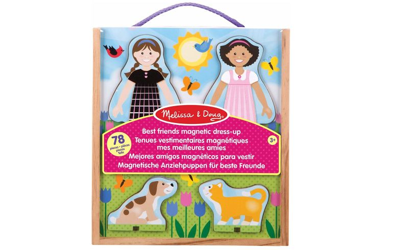 Melissa and Doug Best Friends Magnetic Dress Up