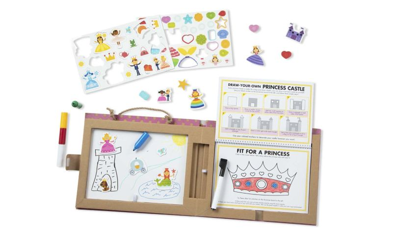Melissa and Doug Play Draw Create - Princess