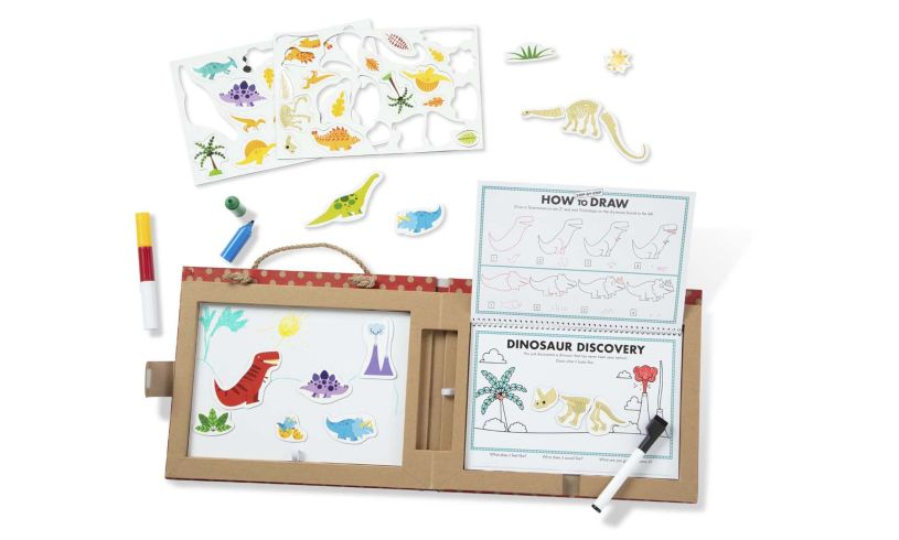 Melissa and Doug Play Draw Create Dinosaurs