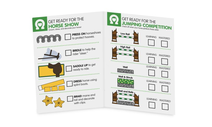 Horse Show Competition play Set