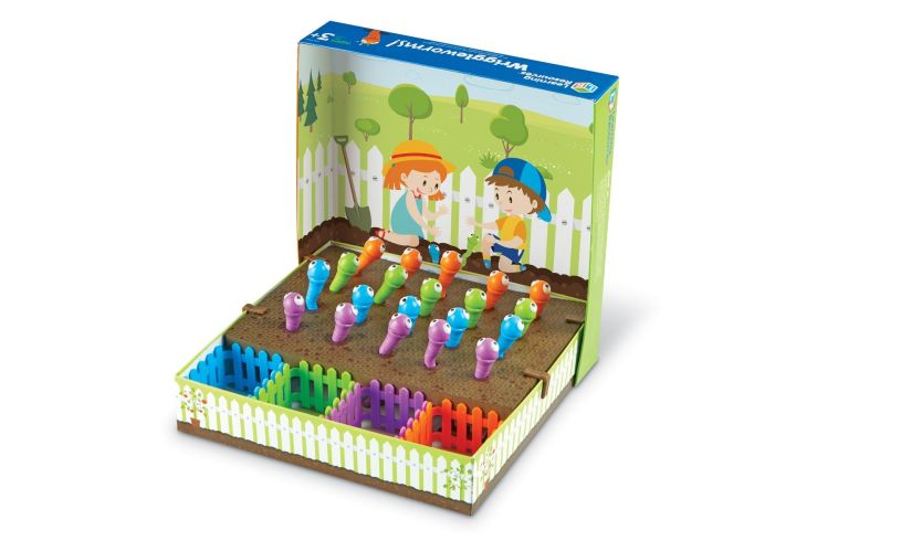 Wriggle Worms open box