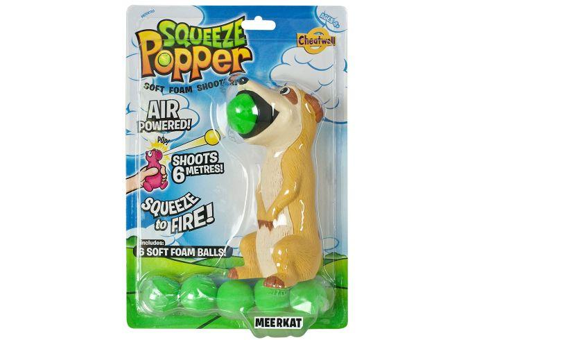 Meerkat Squeeze Popper Toy