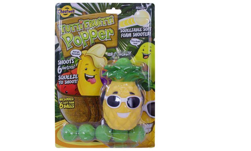 Tutti Frutti Pineapple Squeeze Popper