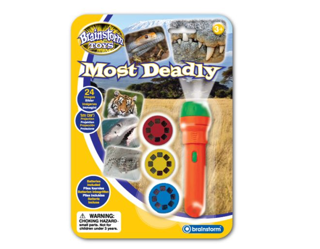 Most deadly wild animals projector
