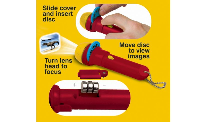 Dinosaur Torch and Projector Slides