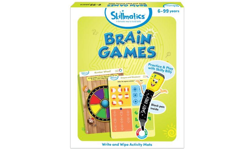 Skillmatics Brain Games