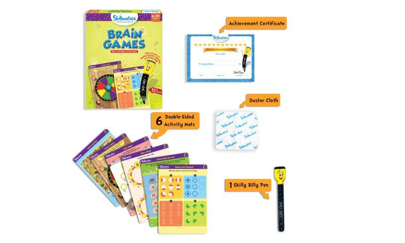 Skillmatics Brain Games Pack