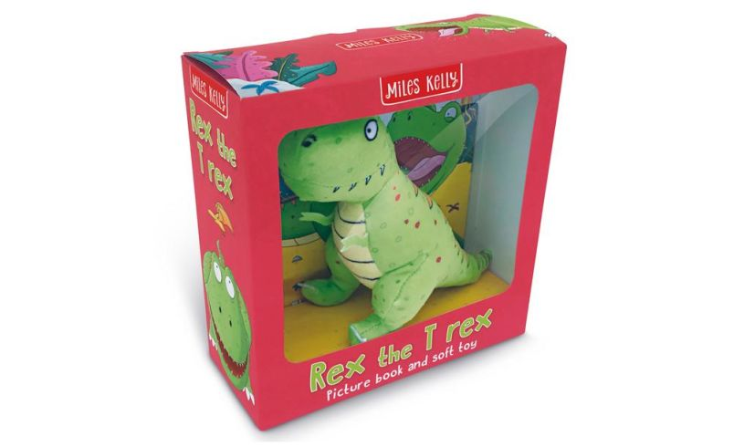 Rex the T Rex box