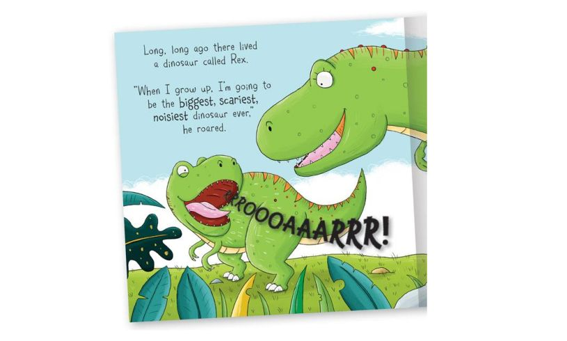Rex the T Rex book contents
