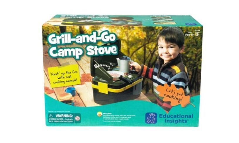 Camp Stove box