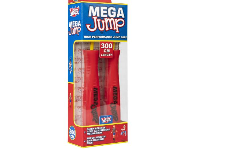 Mega Jump rope red Wicked