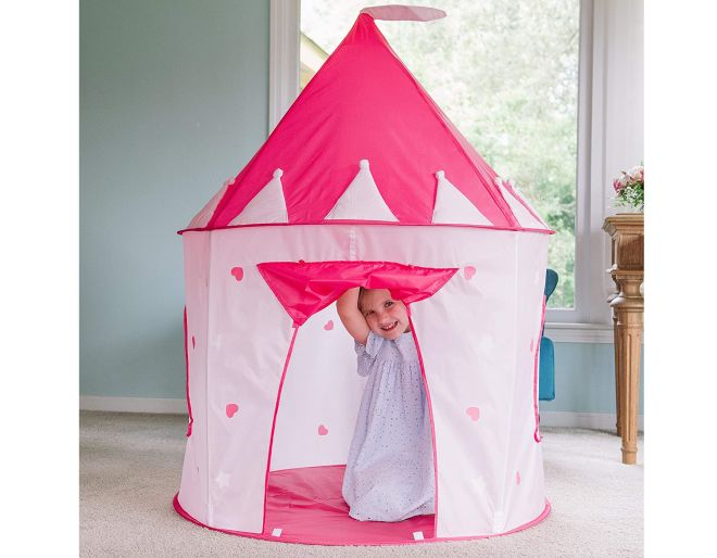 Pop Up Tent in use