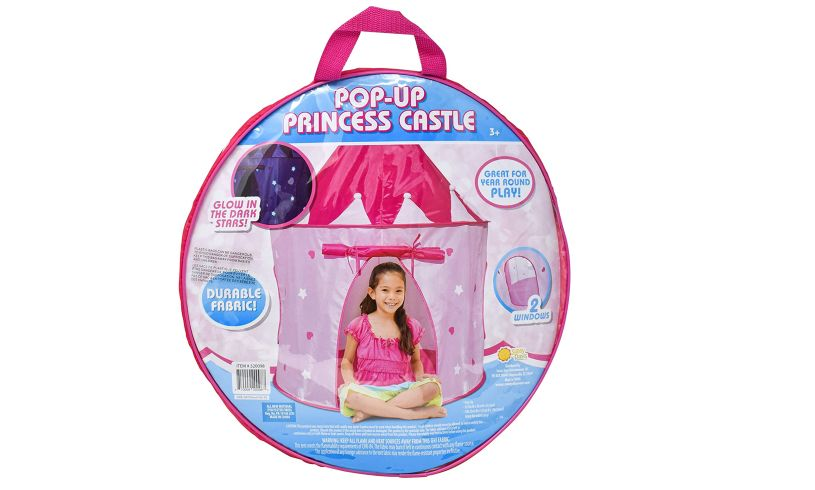 Pop Up Tent packaging