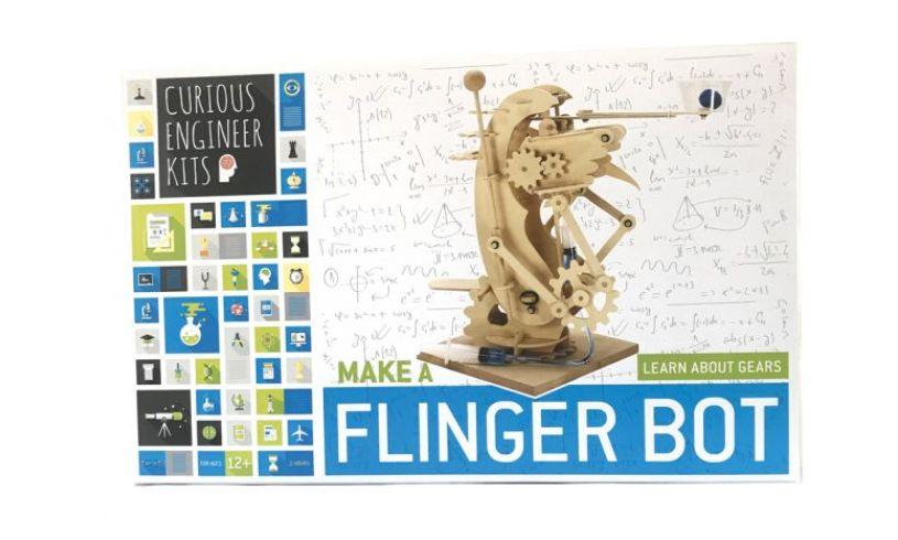 Flinger Bot box