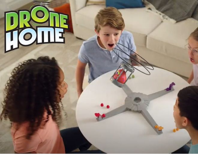 Drone Home Playmonster being played