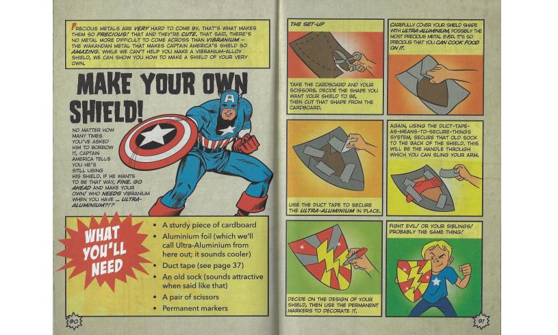 Ultimate Superhero Manual Shield