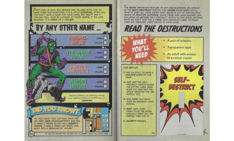 Ultimate Superhero Manual Name