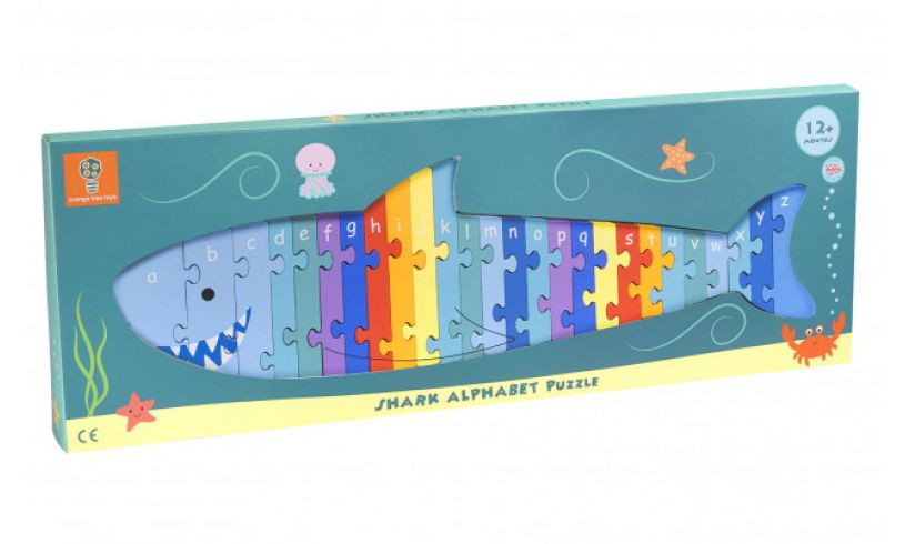 Shark Alphabet Puzzle