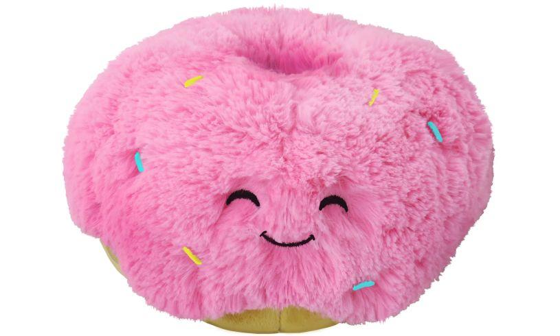 Pink Doughnut Squishable Cushion