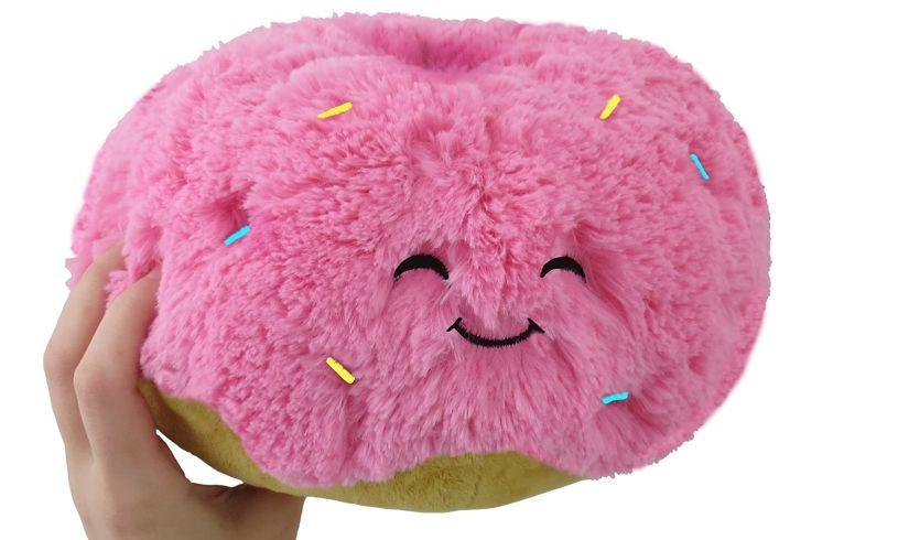 Doughnut Squishable Cushion