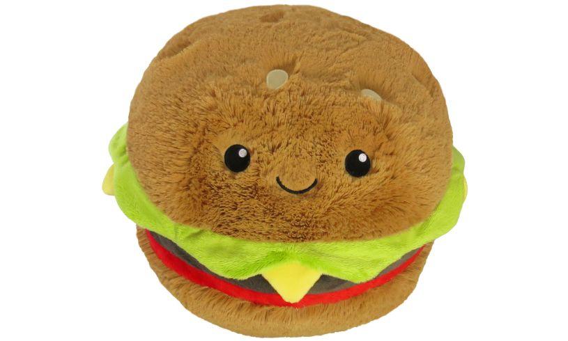 Hamburger Squishable Cushion