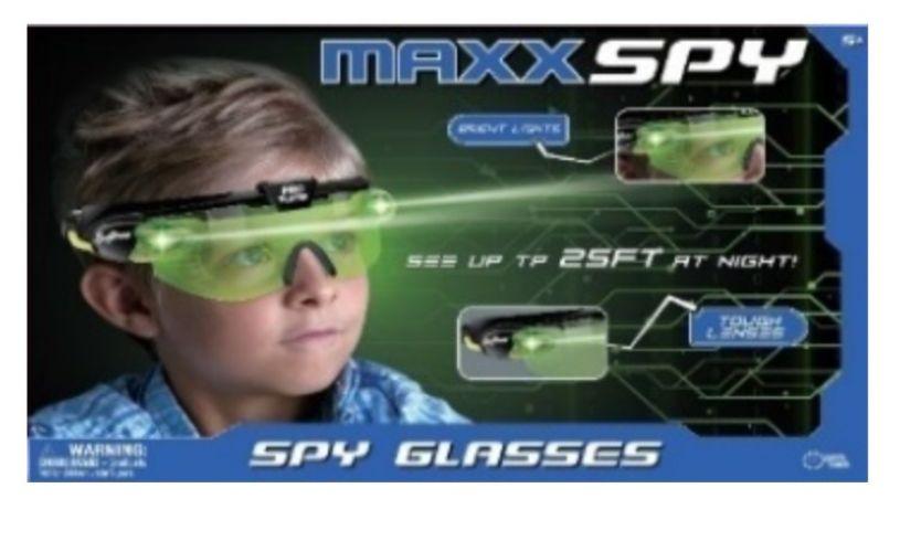 Maxx spy glasses box