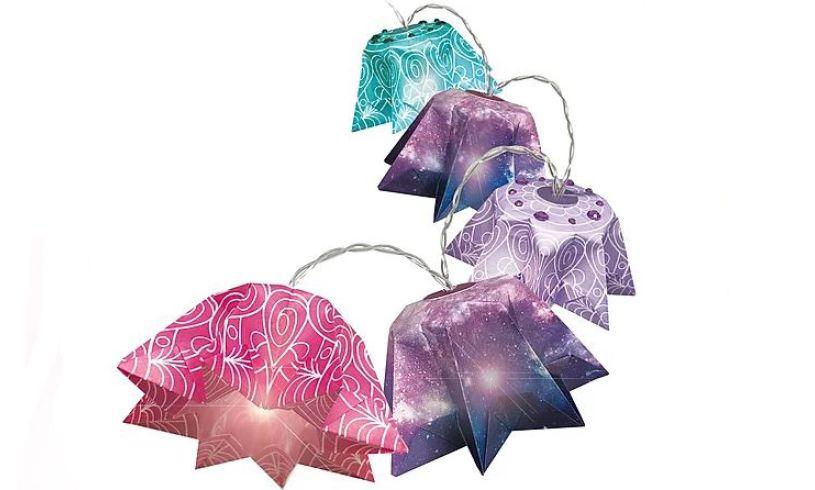 Nebulous Stars Origami Lanterns