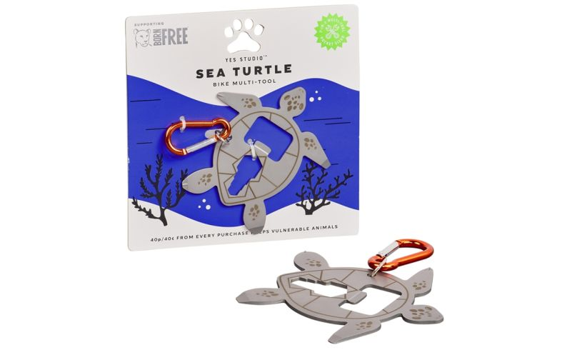 Sea turtle bike multi tool