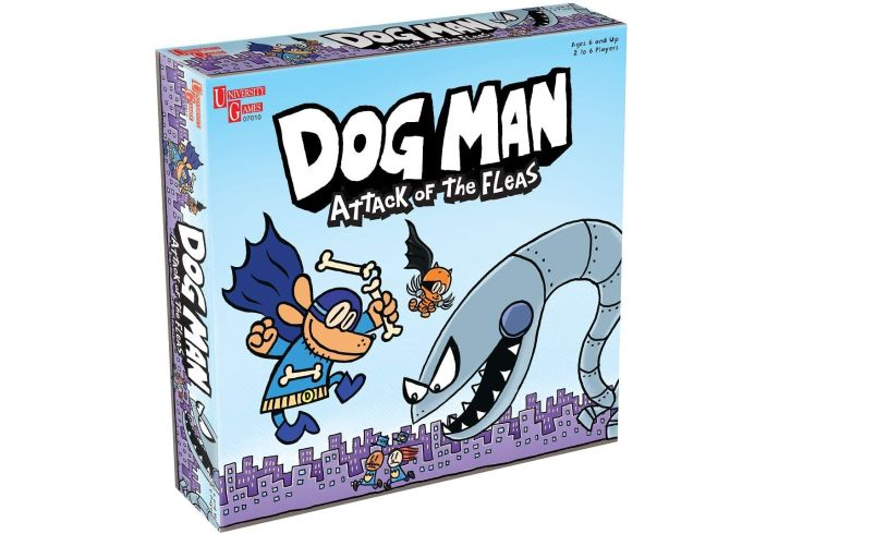 Dog man attack of the fleas box