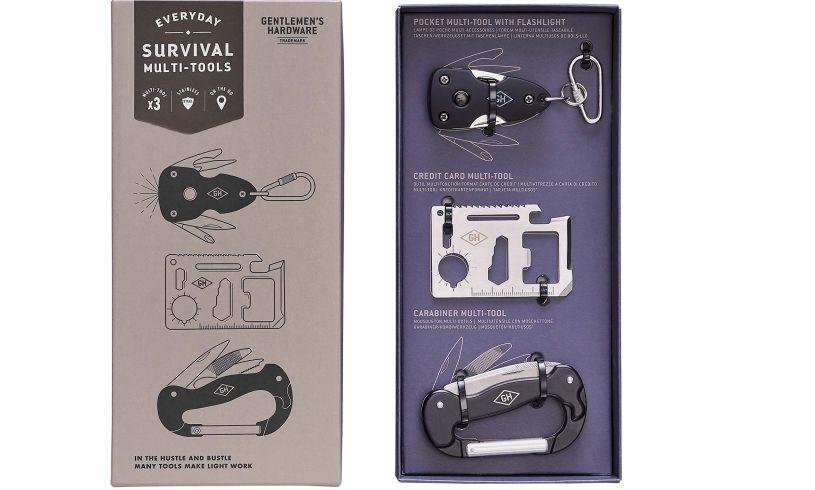 Gentleman's survival multi tool kit