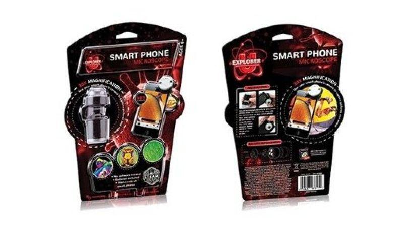 Smart phone microscope tedco