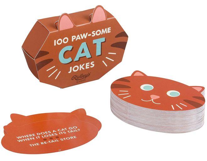 100 pawsome cat jokes