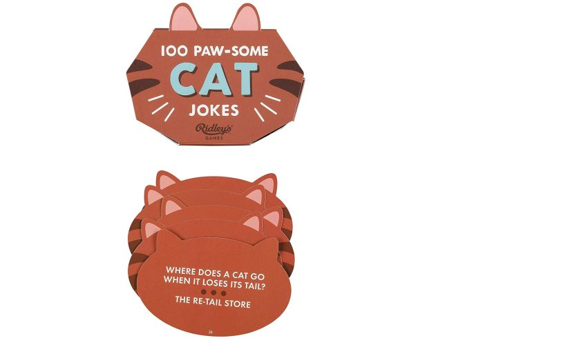 100 pawsome cat jokes