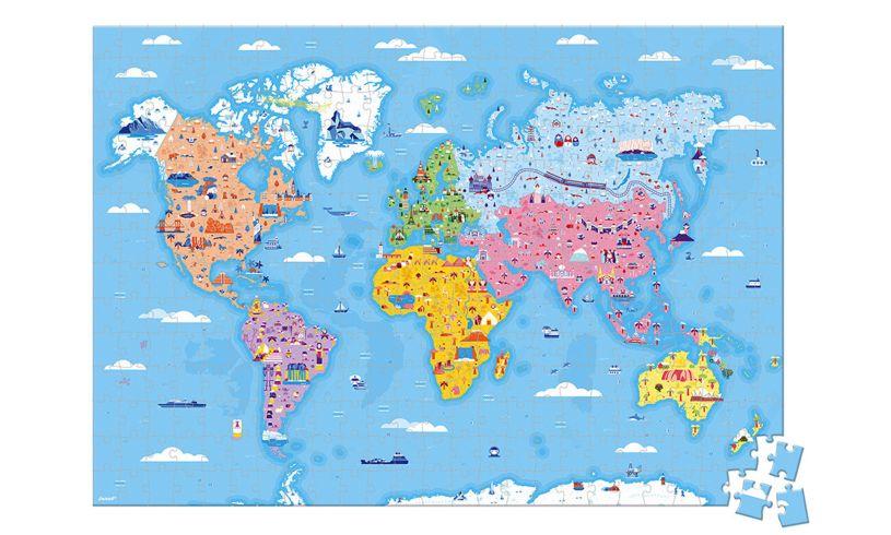 Childrens World Puzzle