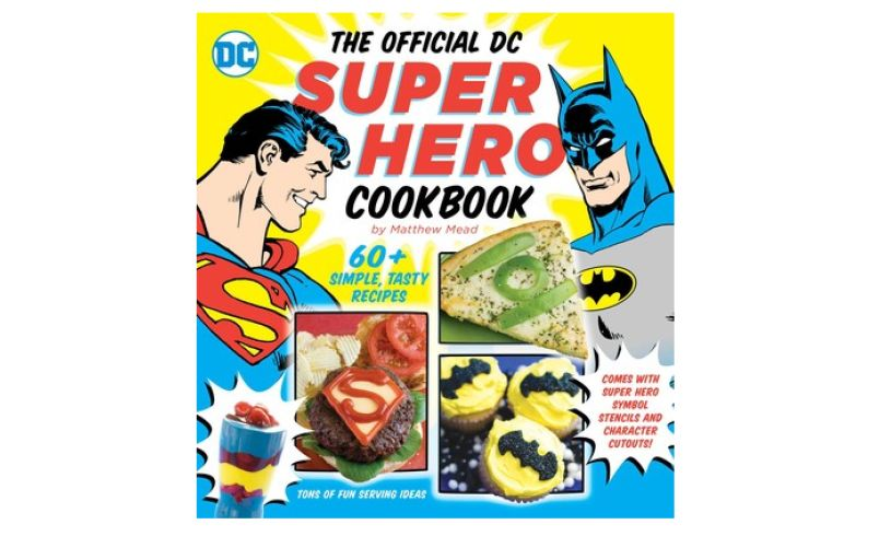 Official DC superhero cookbook