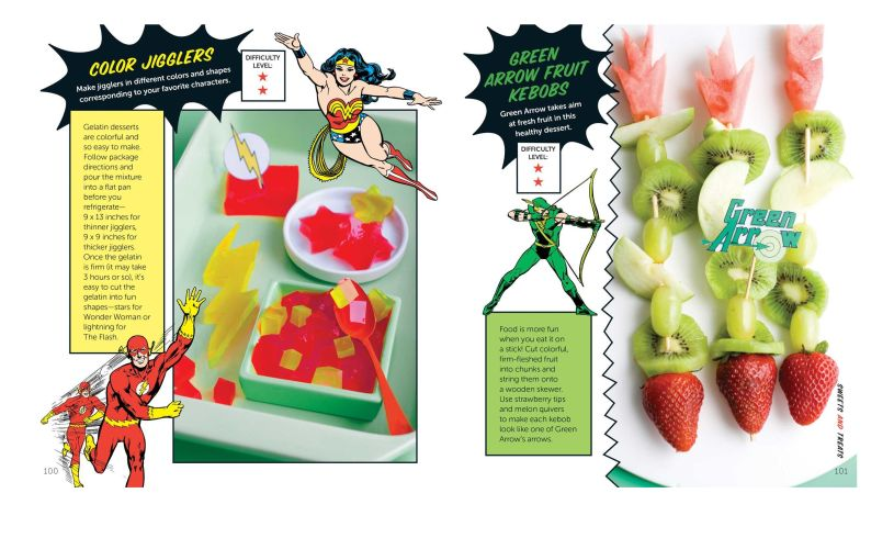 Super hero cookbook recipe