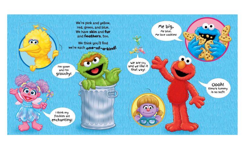 Sesame street celebrate you