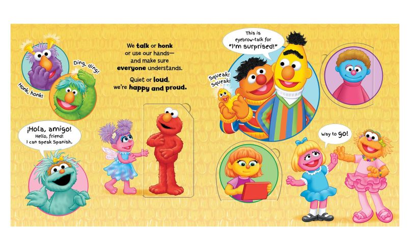 Sesame street celebrate you celebrate me book