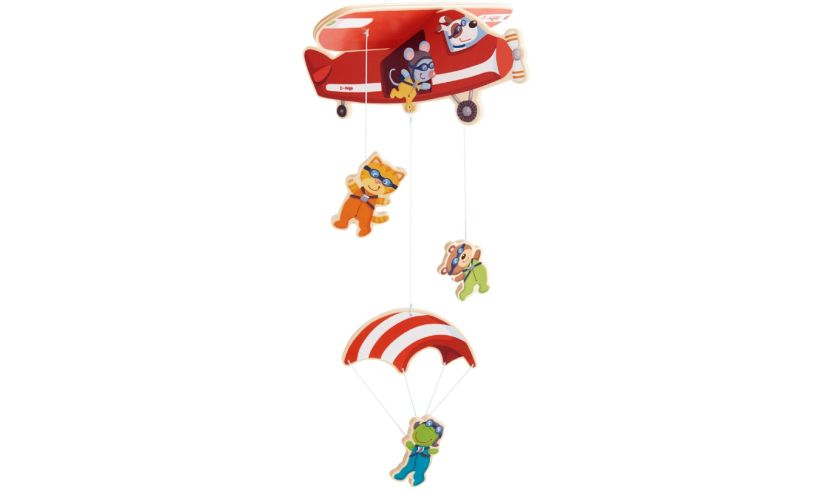 Haba mobile parachuters