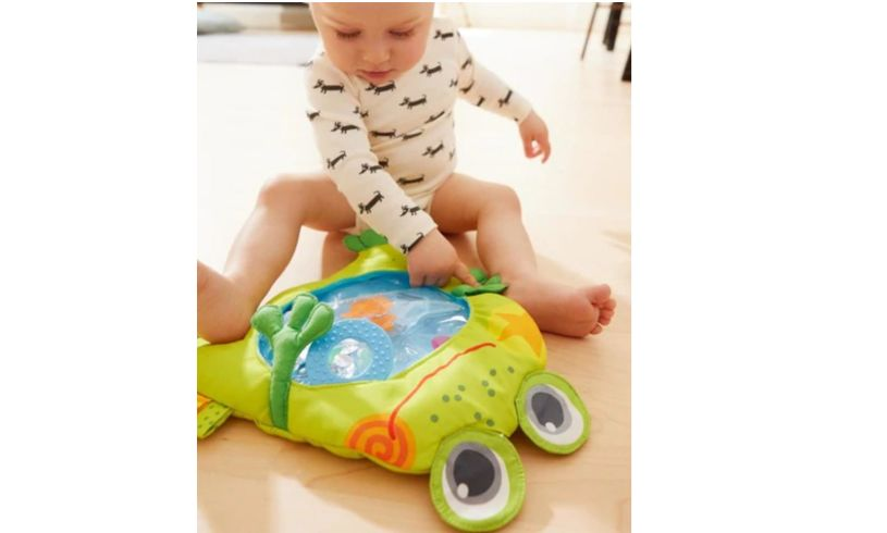haba frog water play mat lifestyle