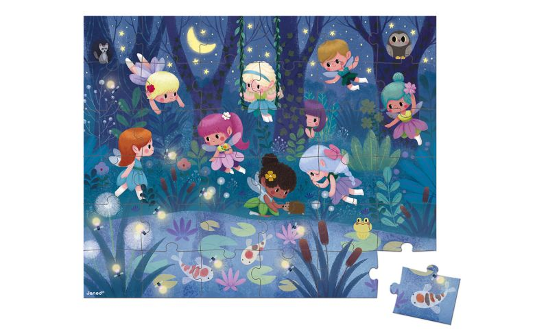 Fairies and Waterlilies Puzzle