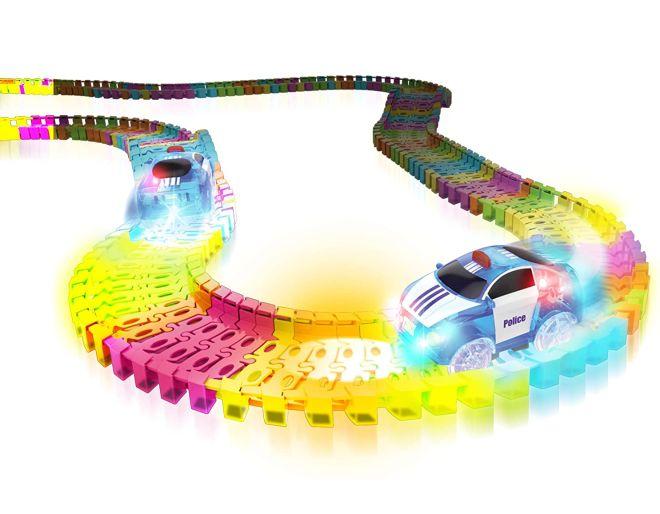 Laser Twister tracks and racer
