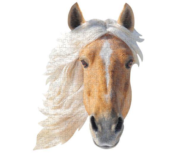 I Am Horse Shaped Jigsaw Puzzle