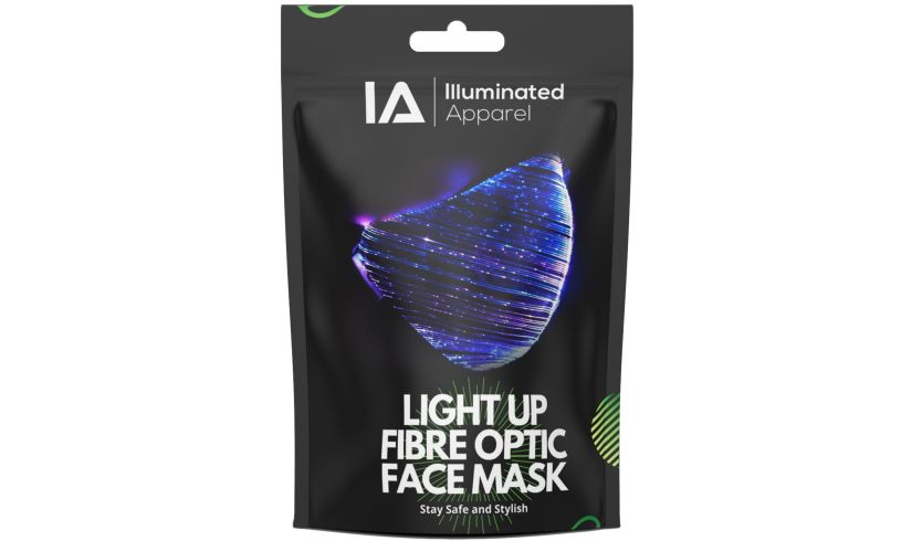 LED light up mask packet