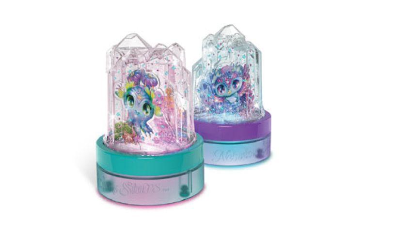 Crystal snow globes