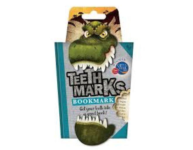 T Rex teethmark bookmark